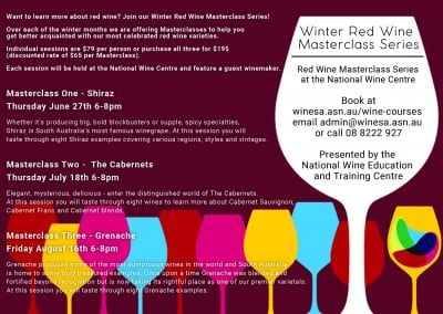 Red Wine Winter Masterclass